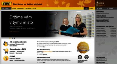 sws.cz - sws terminal: stránky společnosti sws a.s.