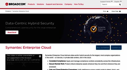 symantec.com - broadcom inc.  connecting everything
