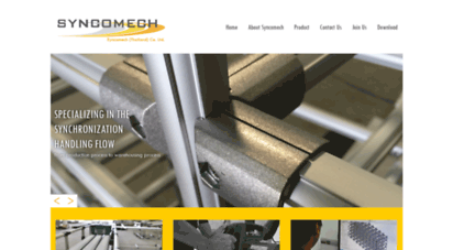 Welcome to Syncomech com - Pipe and Joint Thailand, Green Frame