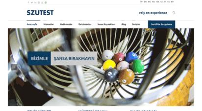 szutest.com.tr - ce, ce işareti, ce belgesi, gost-r, ukrsepro, belgelendirme ve test hizmetleri, szutest