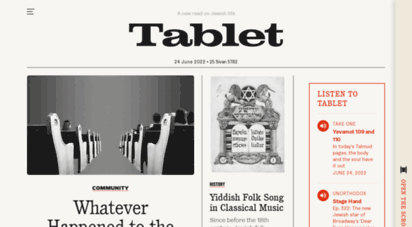 tabletmag.com -