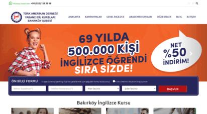 tadbakirkoy.com - bakırköy ingilizce kursu - türk amerikan derneği ingilizce kursu