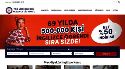 tadmecidiyekoy.com - mecidiyeköy ingilizce kursu türk amerikan derneği ingilizce kursu