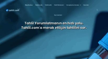 tahlil.com