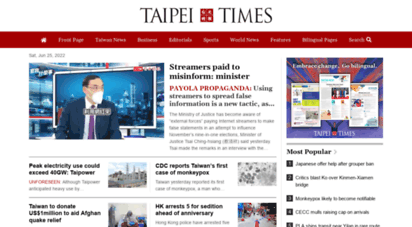 taipeitimes.com - taipei times