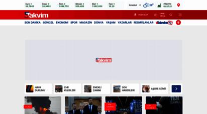 takvim.com.tr - takvim - en son haber, son dakika haberler, güncel gazete haberleri
