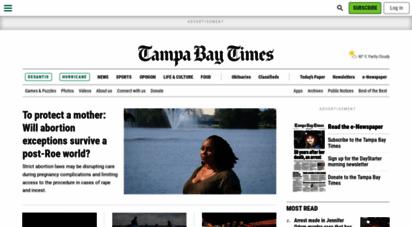 tampabay.com - tampa bay, florida news  tampa bay times/st. pete times