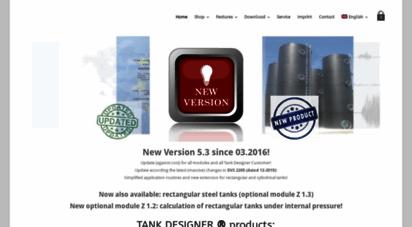 Welcome to Tankdesigner de - Tank Designer – Engineering and