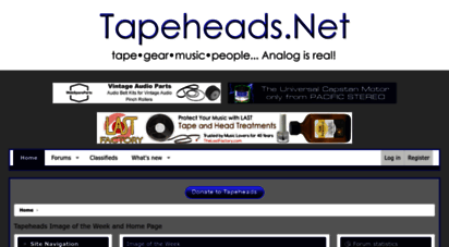 tapeheads.net - tapeheads.net home page
