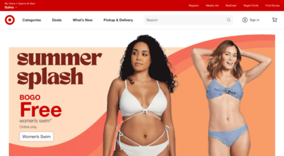 target.com - problems viewing target.com?