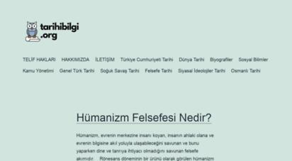 tarihibilgi.org - tarihibilgi.org - tarih ve sosyal bilimler alanında online bilgi kaynağı