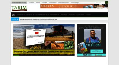 tarim.com.tr - türkiye tarım sektörü´nün tarım haritası