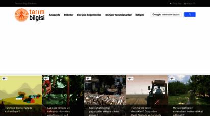 tarimbilgisi.com - tarımın bilgi bankası