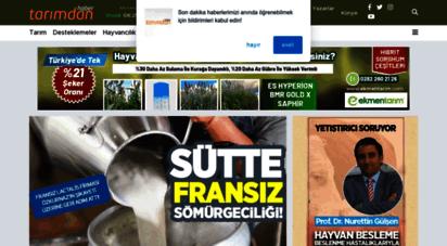 tarimdanhaber.com - türkiye´nin tarım sitesi: tarım haberleri