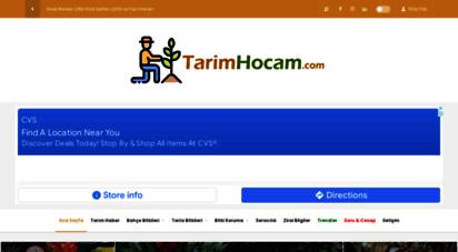 tarimhocam.com - tarımhocam.com - tarım sitesi - tarım haberleri, tarla bitkileri, bahçe bitkileri, bitki koruma, sulama ve pratik bilgiler kategorisi ile yayın yapan tarım sitesi