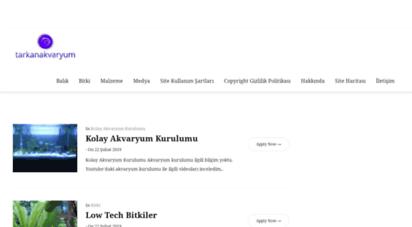 tarkanakvaryum.com - tarkan akvaryum