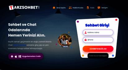tarzsohbet.com - tarzsohbet.com - chat, sohbet, sohbet odaları, bedava chat siteleri