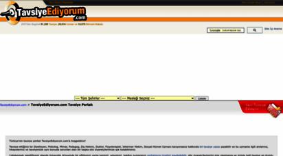 tavsiyeediyorum.com - tavsiyeediyorum.com uzman tavsiye portalı