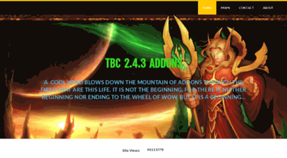 tbcwowaddons.weebly.com - addons for world of warcraft buring crusade 2.4.3 wow tbc - home