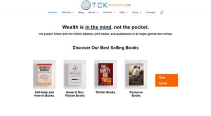 tckpublishing.com - tck publishing - book publisher and marketing company  tck publishing