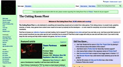 tcrf.net - the cutting room floor