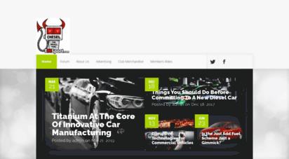 Welcome to Tdisport com - TDISport - Diesel Car Owners Club