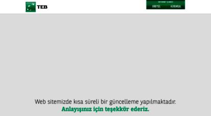 teb.com.tr - türk ekonomi bankası