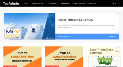 tecadmin.net - tecadmin.net - linux tutorials, tips, tricks, news and howto guides