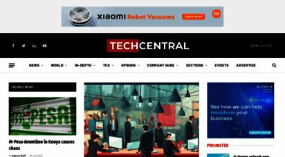 techcentral.co.za - home - techcentral