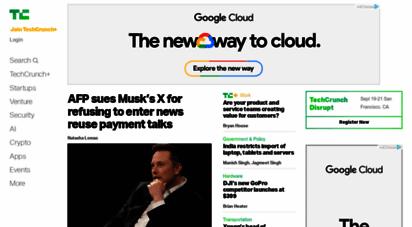 techcrunch.com - techcrunch - startup and technology news
