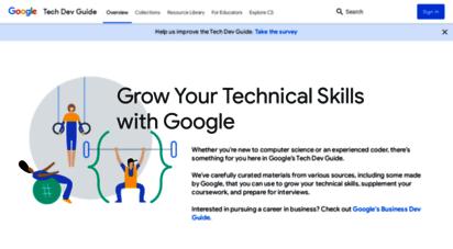 techdevguide.withgoogle.com -