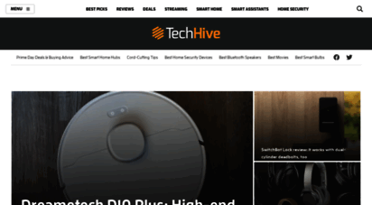 techhive.com - techhive - news, reviews and tips about smart homes, home security, and home entertainment
