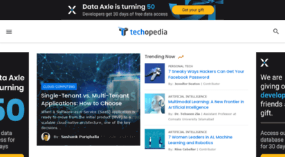techopedia.com - techopedia -  it and business meet