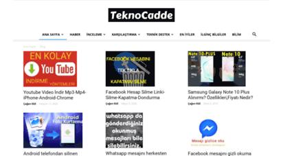 teknocadde.com
