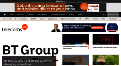 telecoms.com - telecoms.com - the leading provider of global news, comment and anlysis for the telecommunications industry
