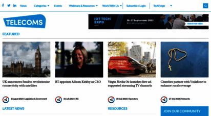 telecomstechnews.com - home  telecoms tech news  latest telecoms news & insights