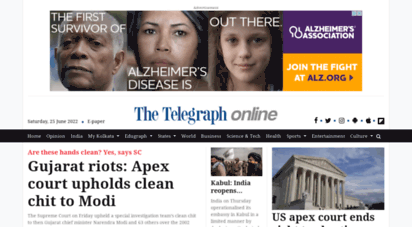 telegraphindia.com - telegraph india  latest news, top stories, opinion, news anlysis and comments