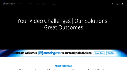 telestream.net - video transcoding, streaming, capture, screen recording, captioning and workflow automation solutions  telestream, llc