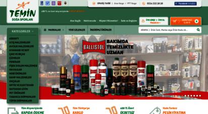 temin.com.tr - temin doğa sporları .::. outdoor hobi av kamp balık malzemeleri .::. online satış mağazası  bursa