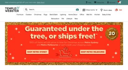 templeandwebster.com.au - furniture & homewares online at beautiful prices  temple & webster