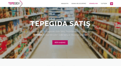 tepegida.com - tepe gıda satış pazarlama ve lojistik - gıda pazarlama