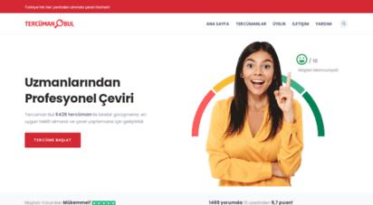 tercumanbul.com - tercüman bul - profesyonel tercümanlardan teklif alın