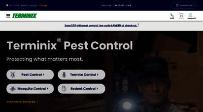 terminix.com - terminix® - powerful pest & termite solutions  defenders of home