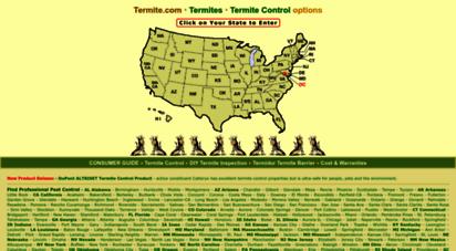 termite.com - termite.com • termites • termite control options