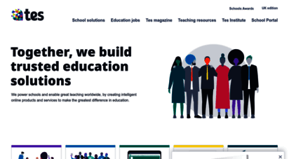 tes.com - tes - education jobs, teaching resources, magazine & forums