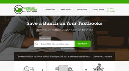 textbooksolutions.com - rent textbooks  cheap textbook rental source  textbooksolutions.com