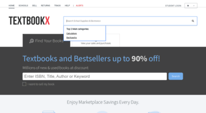 textbookx.com - textbookx.com is the best source for buying and selling new and used textbooks online