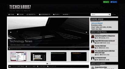 tg007.net - tg007.net - online community resource