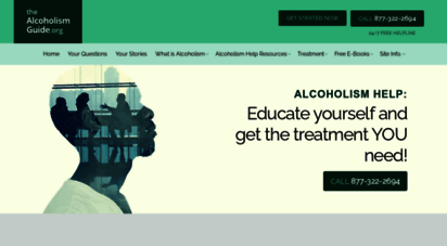 the-alcoholism-guide.org - alcoholism help. educate yourself and get the treatment you need