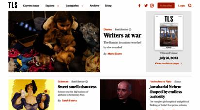 the-tls.co.uk - tls - times literary supplement